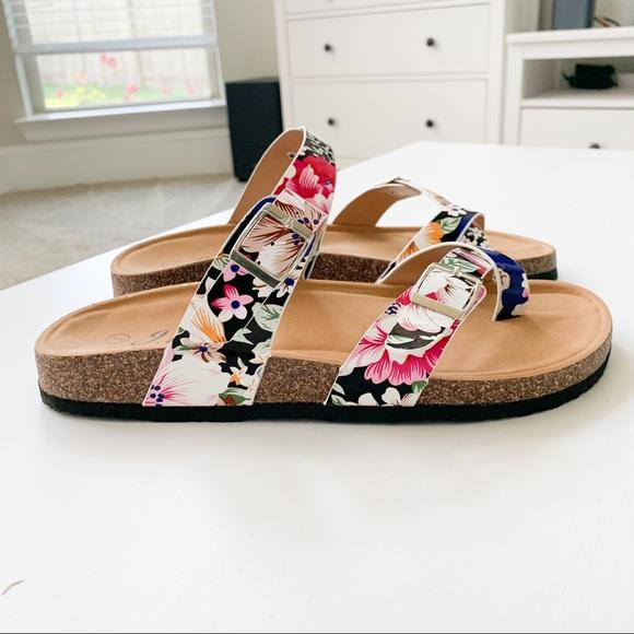 J. Mark Shoes - J.Mark Floral Sandal Urban-07